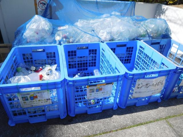 ゴミ置場にイラストの貼り紙が!分かりやすい工夫が管理人によって!